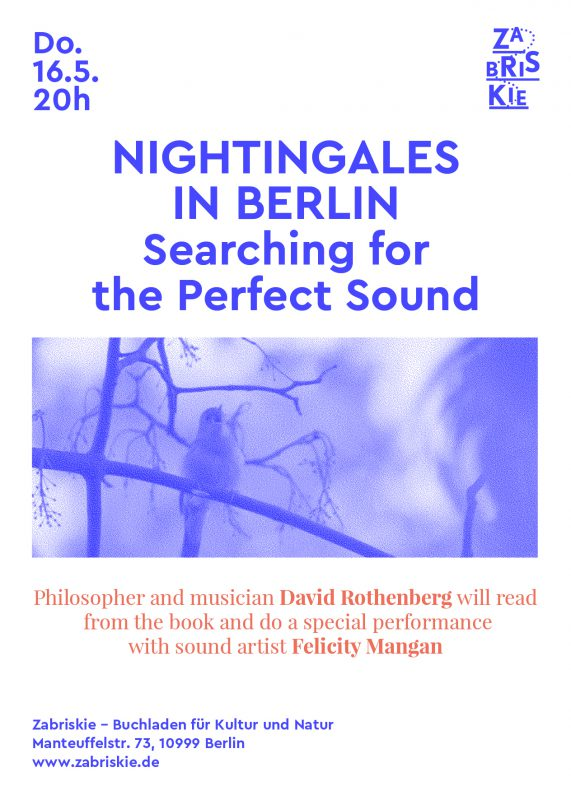 Nightingales In Berlin Searching For The Perfect Sound Reading