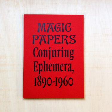 zabriskie_magic papers conjuring ephemera_Philip David Treece